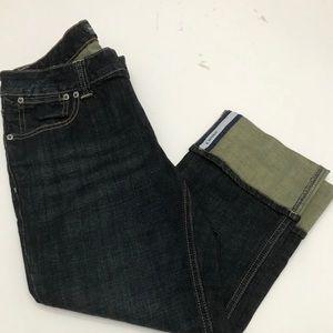 Banana Republic cropped jeans size 8